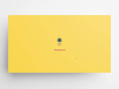 Quickmotion – website ananas parallax effect parallax scrolling scroll animation red green yellow parallax form vue.js logo video uxui animation design jquery css3 html5