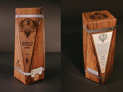 """""""Nicoletta"""" - boxed wine carton design"""