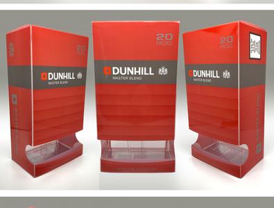 British American Tobacco Group - Dunhill duty-free carton