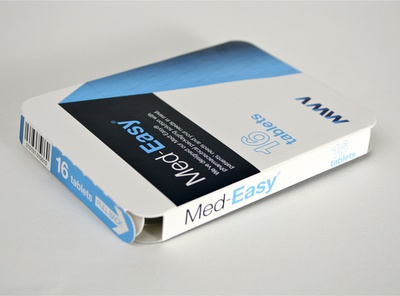 MWV Med-Easy pharma carton branding