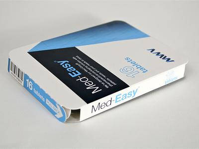MWV Med-Easy pharma carton branding medicine pharmaceuticals graphic designer print design illustration graphic design brand engagement package design branding