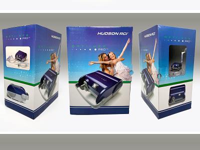 Teleflex Medical, Hudson RCI OptiNeb Pro package design sleep apnea medical device packaging medical device print design illustration graphic design consumer goods package design branding