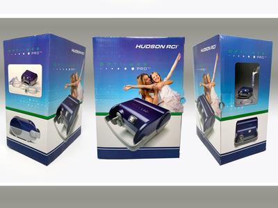 Teleflex Medical, Hudson RCI OptiNeb Pro package design