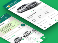 — Car riding app UI (Cars)