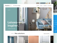 Heytens Homepage concept