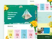 Elephant — website concept