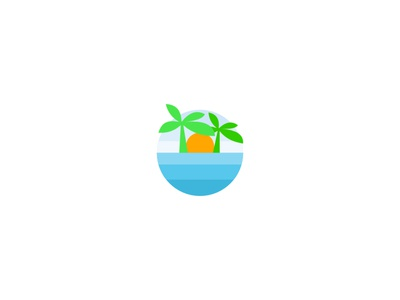 Palm Tree Logo palm palmtree logodesign logo graphic branding brand