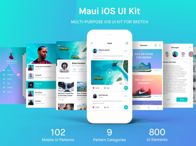 Maui iOS UI Kit