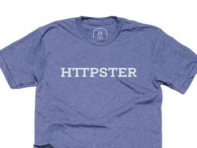 HTTPSTER on Cotton Bureau unicorn geek nerd tee tshirt shirt http hipster