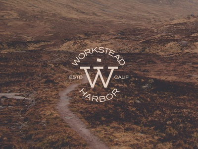 Workstead Stamp stamp logo identity