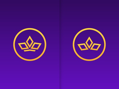Crowns to Compare royal crown branding logo icon