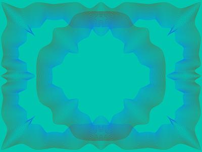 Guilloche pattern guilloche