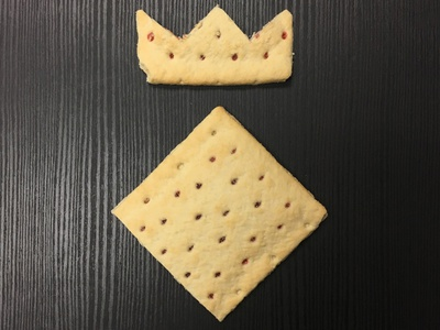 Play with Your Food food pop-tart branding diamond crown identity logo