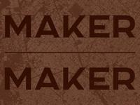 Maker, Serif & Sans