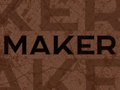 Maker Lettering
