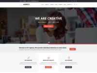 Creative Agency, Hosting, SEO, Portfolio WordPress Theme