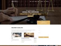 Legal Pro - Law/Legal Business WordPress Theme