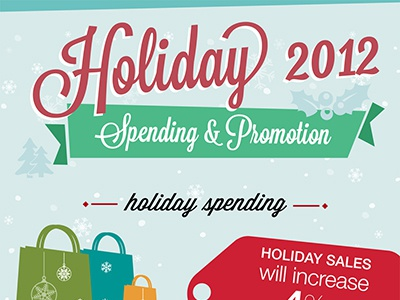 Holiday Infographic infographic holidays graphic design