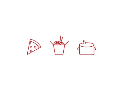Food Icons illustrations ui iconography icons food