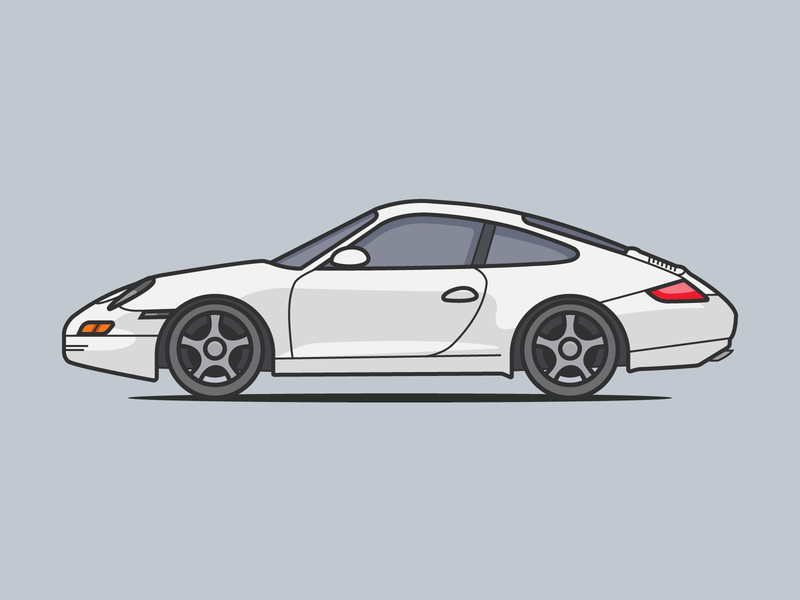 Porsche 911 By Raul Jimenez Posada Dribbble Dribbble