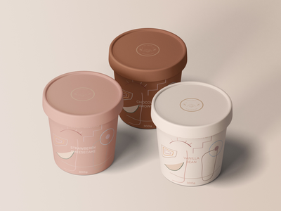 Gelato Packaging Design