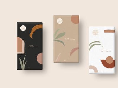 Chocolate Packaging Design branding design illustration packagingdesign chocolate