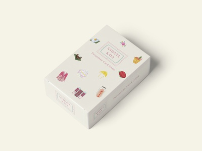 Nyonya Playing Cards Packaging Design