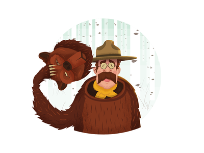 100 Years of National Parks america national parks vercitycolab teddy roosevelt bear nps100 national park service