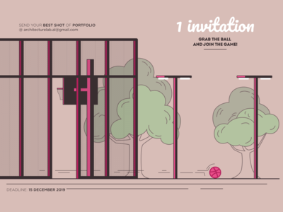 Dribbble Invitation #1