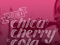 Chica cherry cola