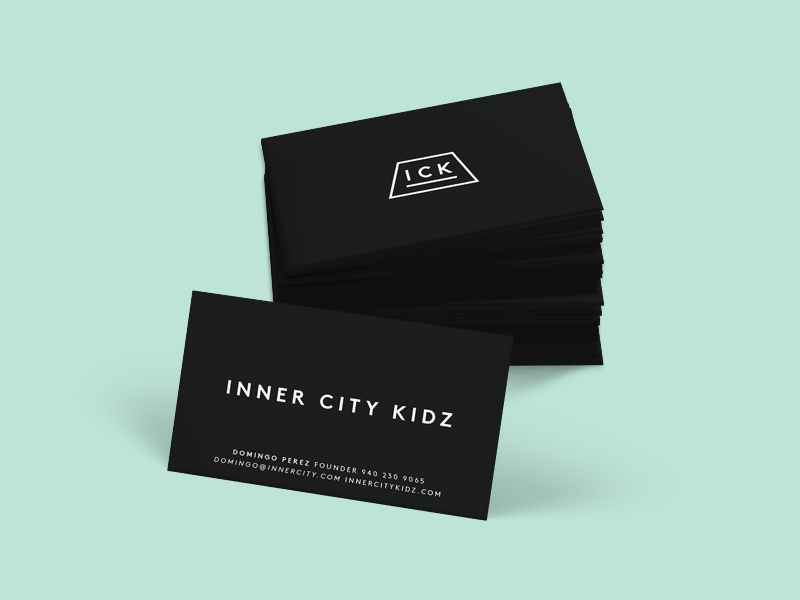 Business Cards business card minimal geometric black simple branding logo identity mockup stationery
