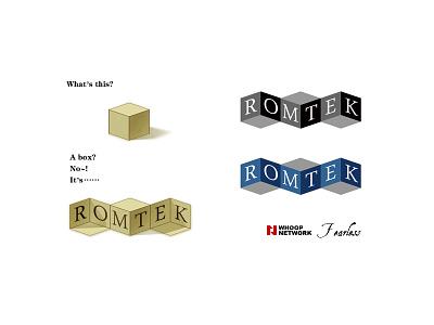 Romtek logo logo