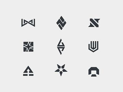 Logo Exploration symbol mark banner star eddy icons gaming esports nations branding exploration logo