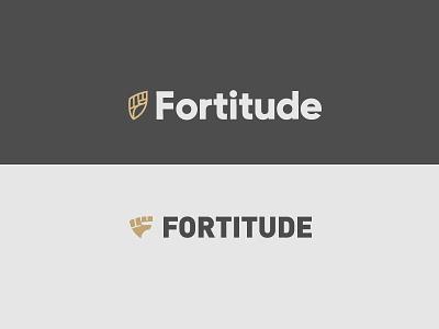 Fortitude Round 02 - 2 identity branding letter fist fashion health triangle shield lion eddy fitness logo
