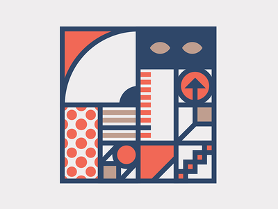 Geometric Comp course dkng skillshare adobe color pattern feature tips composition geometry illustrator