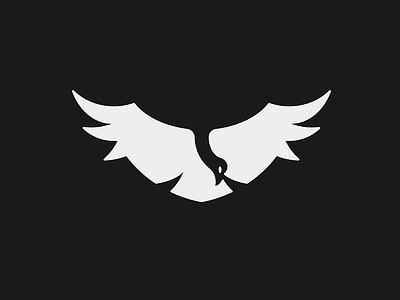 Condor Logo branding mark eddy space negative feather fly animal condor predator bird logo