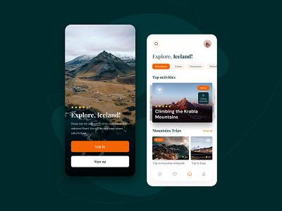Travel mobile app interactive design user experience appdesign travelmobileapp mobileappdesign travelapp user interface ui user interface webdesign ux design ui design ux ui