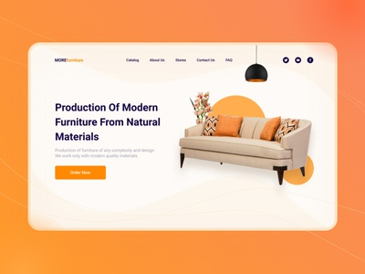 Furniture online store - Web design website template website concept website design furniture shop furniture design furniture website furniture store user interface ui user interface webdesign ux design ux ui design ui