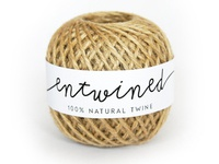 Entwined label design and branding