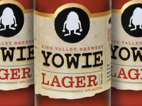 Yowie Lager Branding