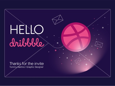 hello dribbble thanks for invite спасибо приглашение привет first shot hello dribbble