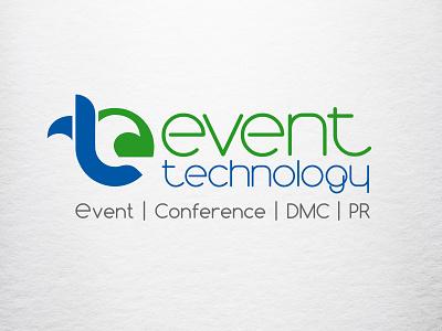 LOGO EVENT technology illustration дизайн логотипа знак брендирование брендинг стиль логотип