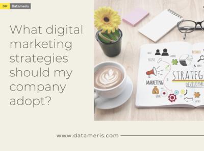 What digital marketing strategies should my company adopt?