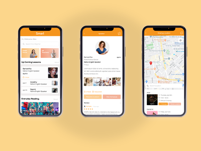 SMART iOS flat app branding ui minimalist design