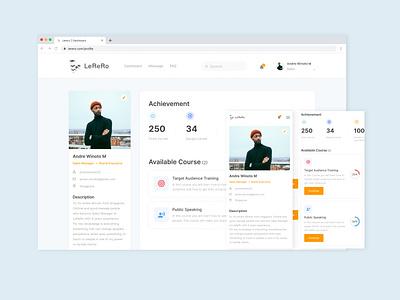 LeReRo responsivedesign uidesign webdesign