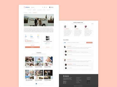 Alapesta Website Design uiuxdesign figma userflow uidesign website designer website design
