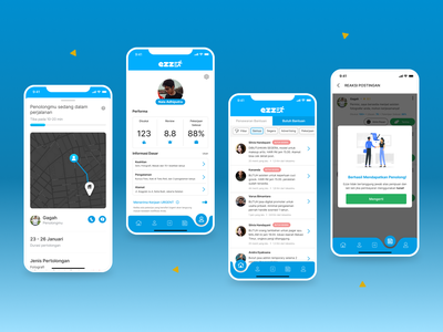 EZZE Mobile Apps wireframe ui design mobile apps mobile apps