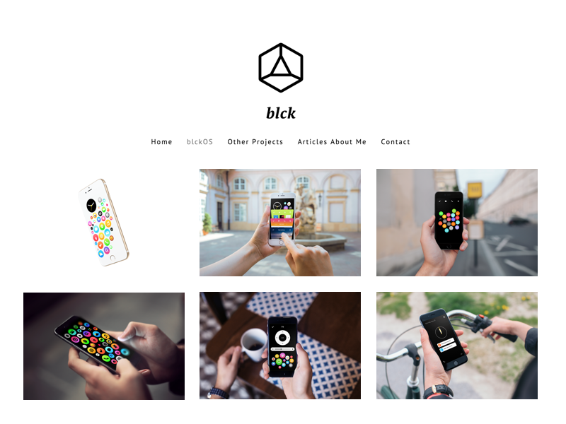 New Website Design logo branding refresh design blckos website blck