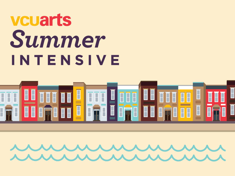VCUarts Summer Intensive by Dan Strogiy on Dribbble