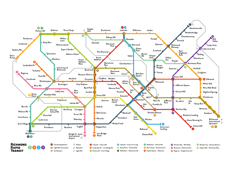 Subway Map Javascript.Richmond Rapid Transit Map By Dan Strogiy On Dribbble